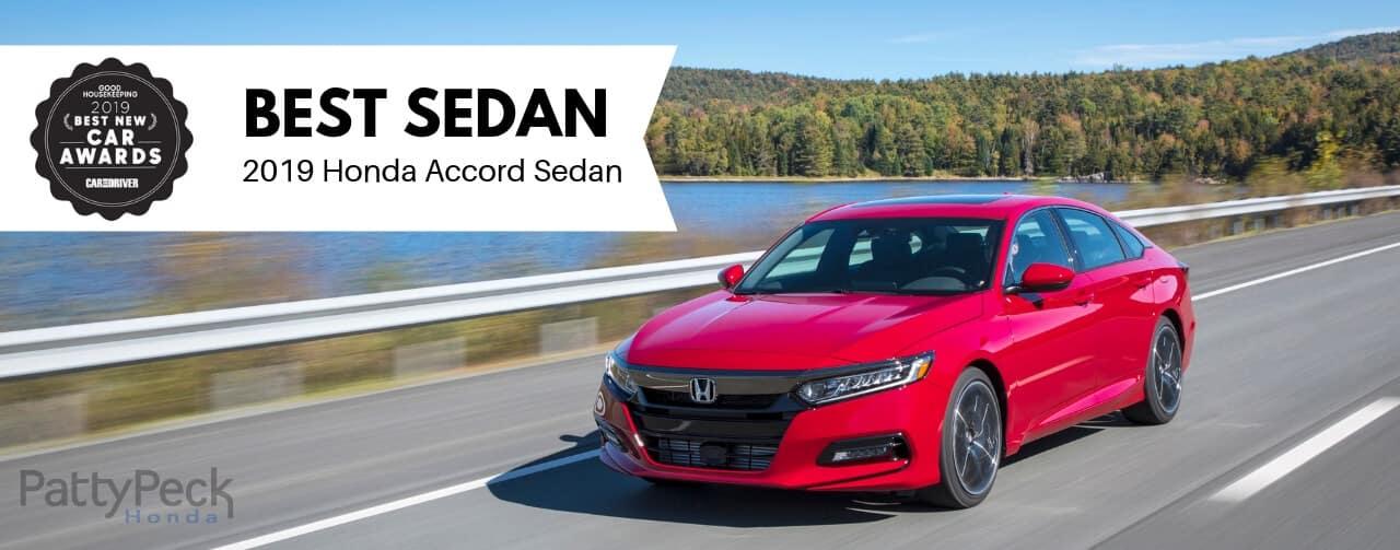 lg 2019 Honda Accord Sedan GH Award