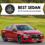 2019 Honda Accord GH Award