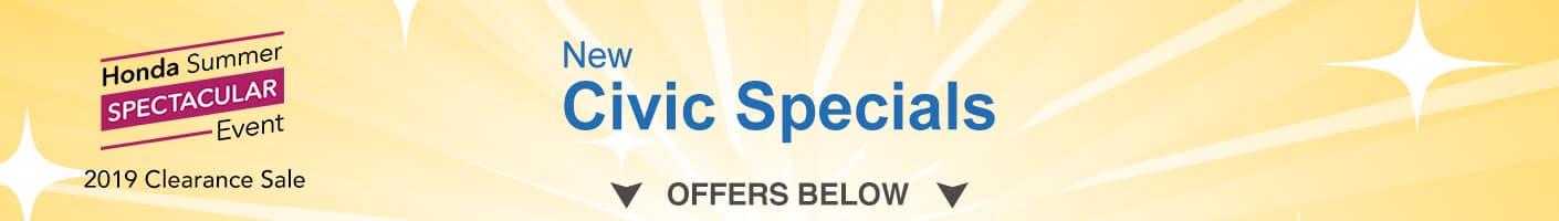 Honda Civic Clearance Sale