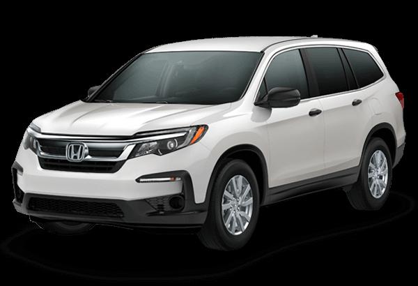 2020 Honda Pilot LX Platinum White Pearl