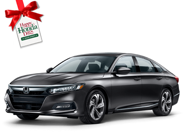 New 2019 Honda Accord Sedan EX