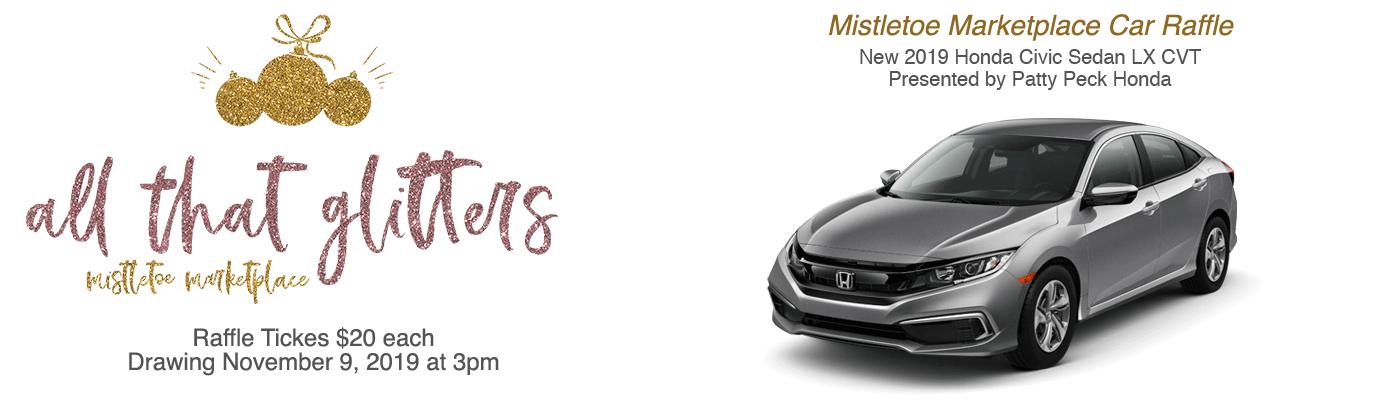 2019 Mistletoe Marketplace Car Raffle