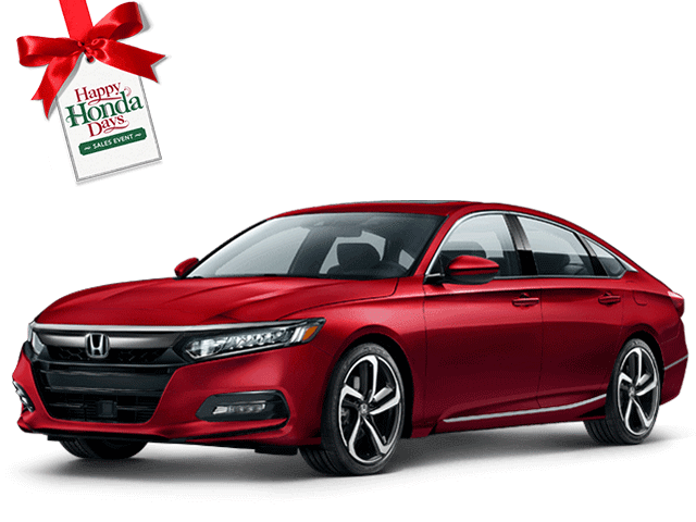 New 2019 Honda Accord Sedan 1.5T Sport