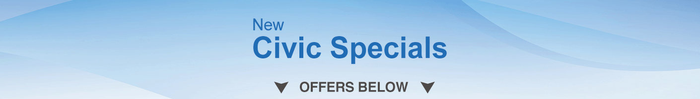 Civic Specials banner