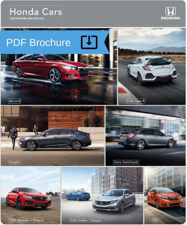 2020 Honda Cars Brochure img