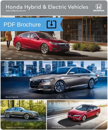 2020 Honda Hybrid Electric vehicle brochures img