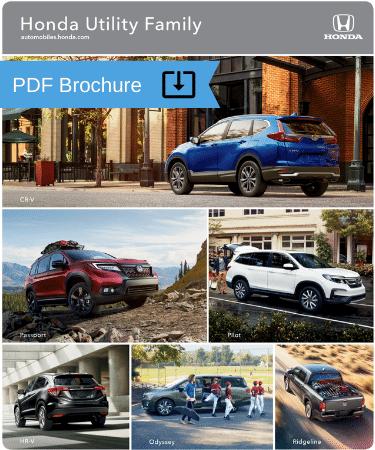 2020 Honda Utility family brochure img