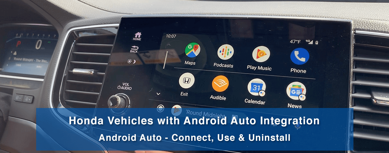 Android Auto in 2020 Honda Passport