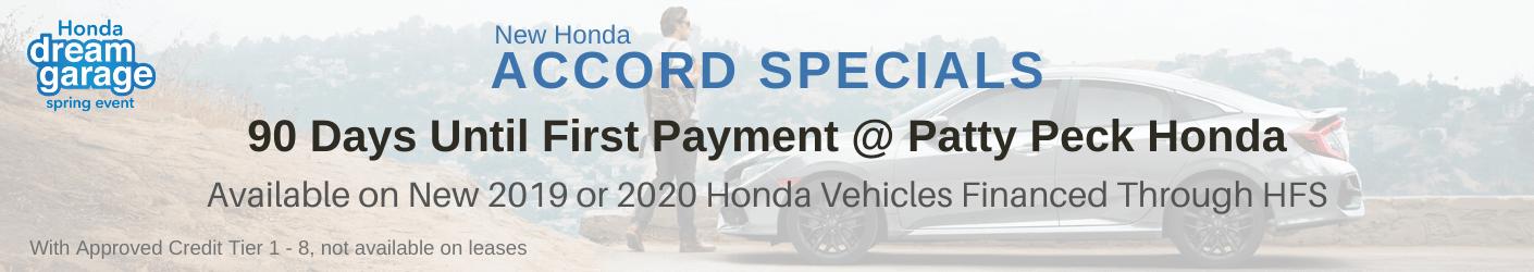 Honda Accord Sale Banner