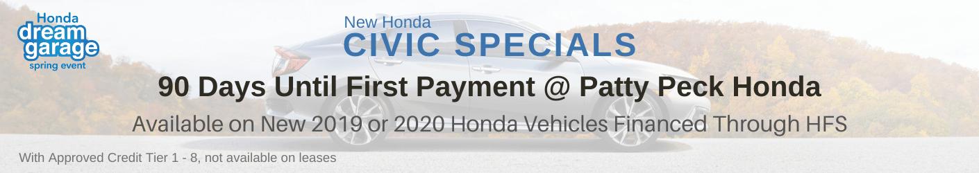 Honda Civic Sale banner