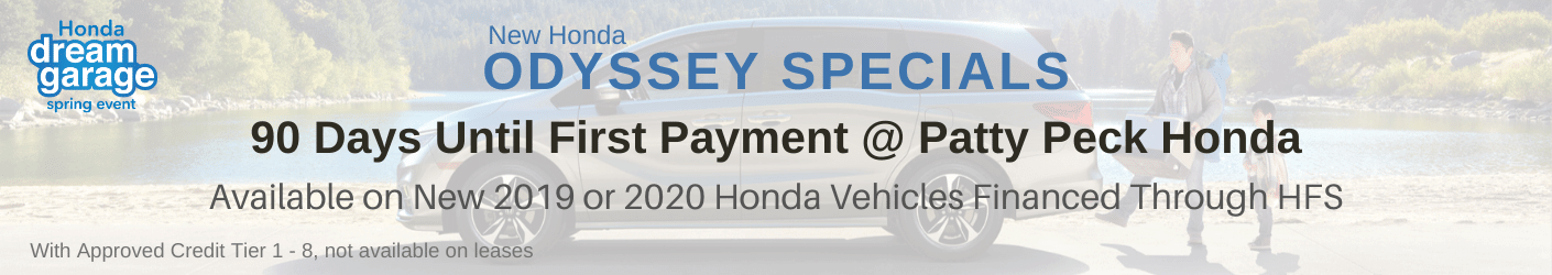 Honda Odyssey Banner