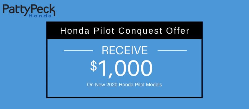 2020 Pilot Honda Conquest Offer