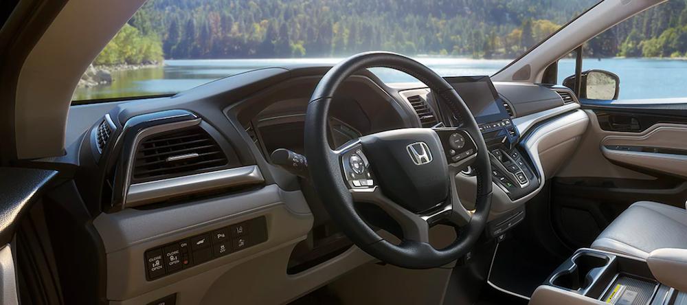 The refined new Honda Odyssey interior