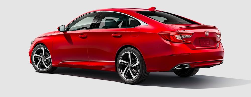 A San Marino Red 2020 Honda Accord