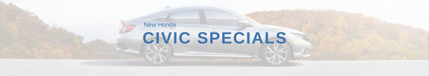 Honda Civic Specials banner