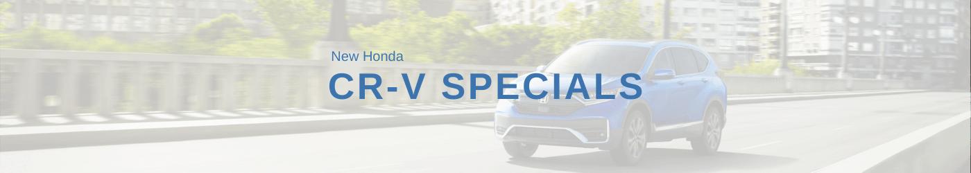 Honda CR-V Special banner
