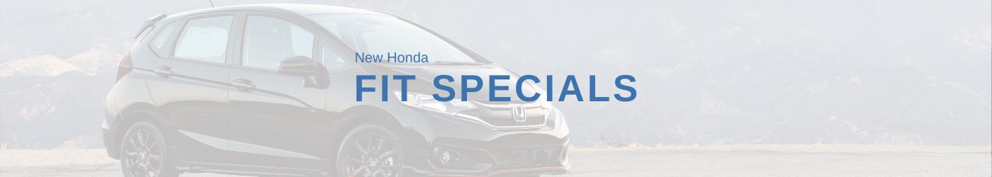 Honda Fit Special Banner