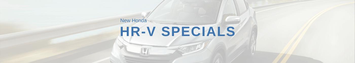 Honda HR-V Specials Banner