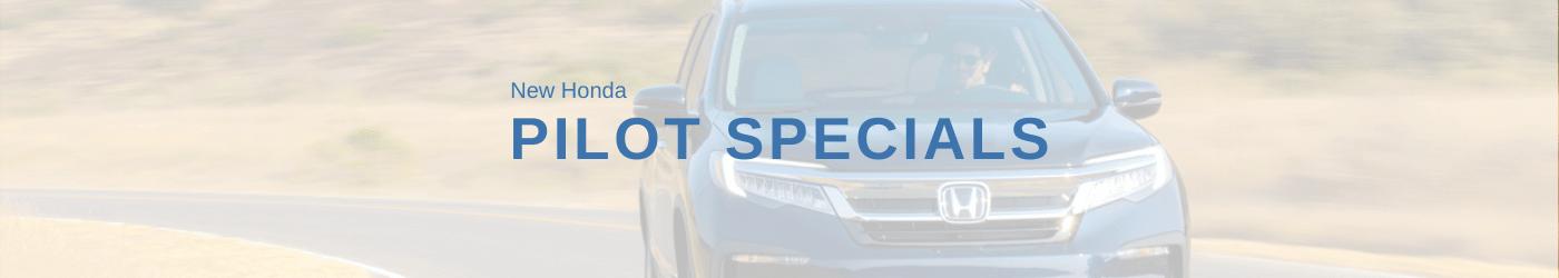 Honda Pilot Special banner