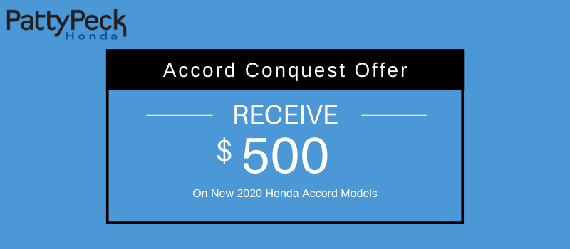 2020 Accord Conquest Offer