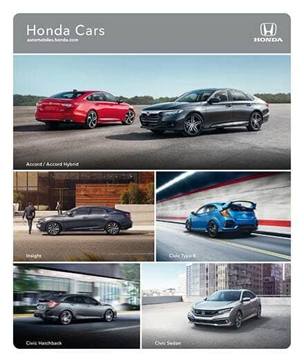 2021 Honda Cars Brochure PDF