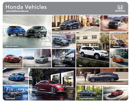 2021 Honda Lineup Brochure PDF