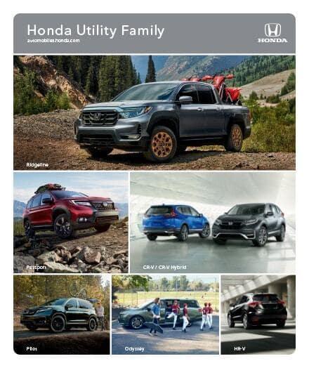 2021 Honda SUVs Trucks Minivan Brochure PDF