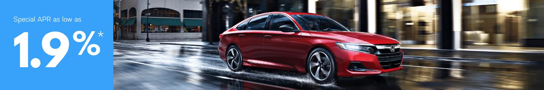 Honda Accord Special apr