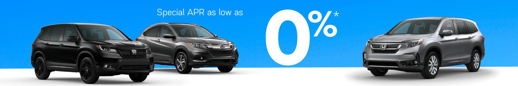Honda Special rates