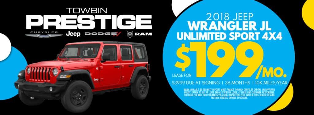 Wrangler Unlimited Sport