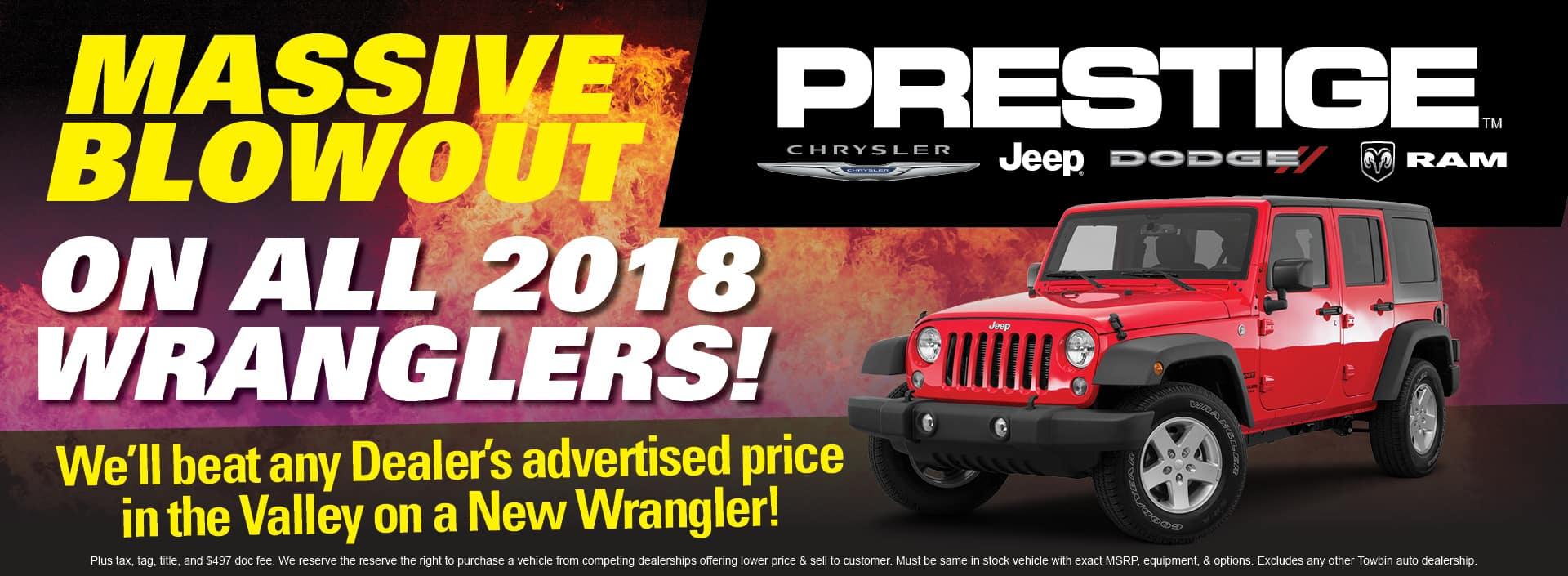Jeep Dealership Las Vegas >> New Jeep Wrangler In Las Vegas Prestige Chrysler Jeep