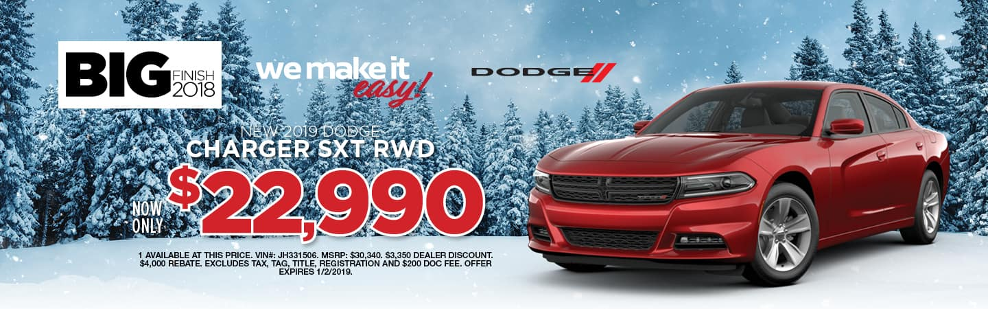 CHARGER DECEMBER SPECIAL