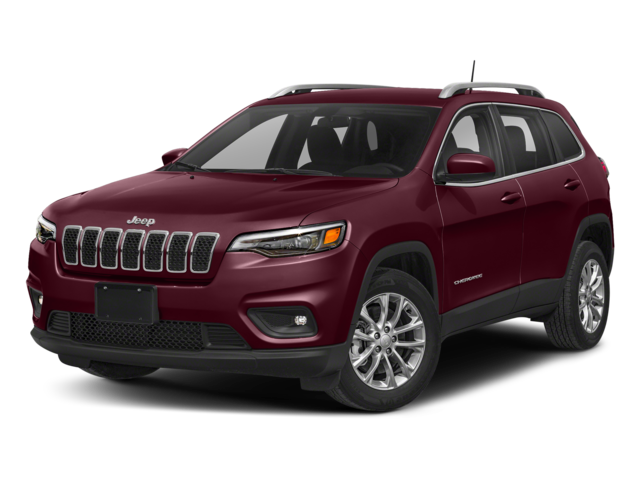 Burgundy 2019 Jeep Cherokee