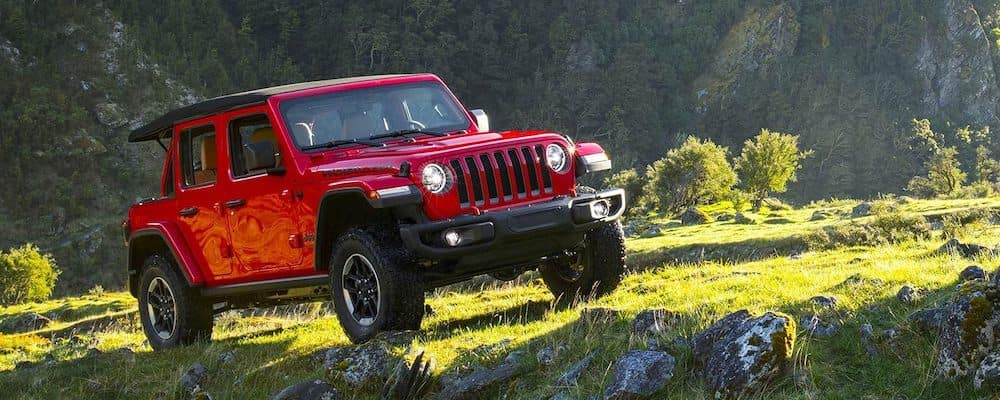 2019 Jeep Wrangler on the trail