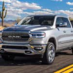 2019 All-New RAM 1500 towing boat