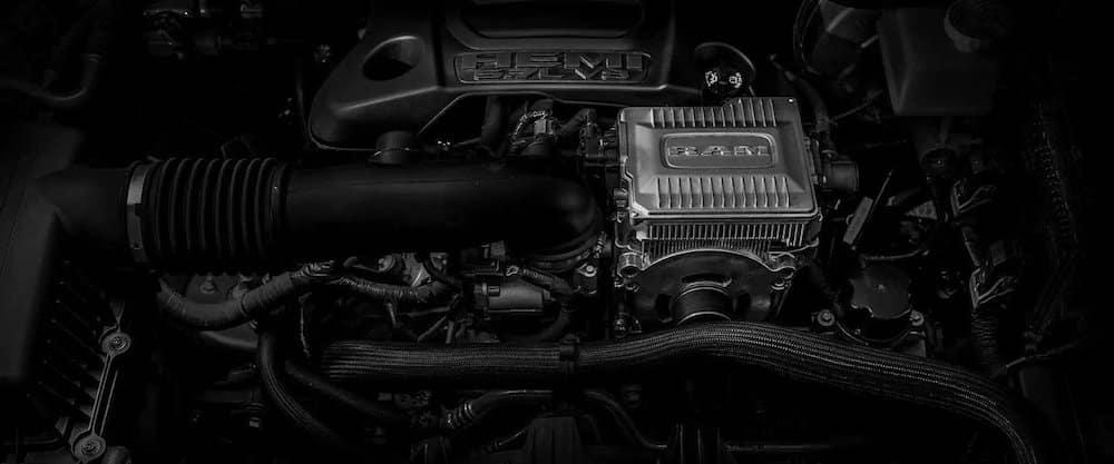 2019 RAM 1500 5.7 eTorque engine