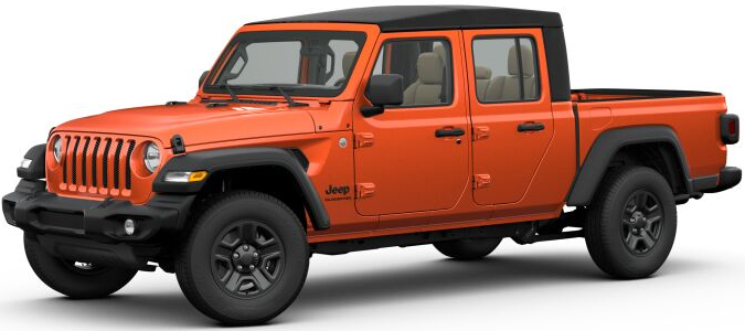2020 Jeep Gladiator Trim Levels And Price New Jeep Pickup