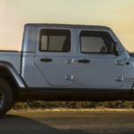 2020 Jeep Gladiator in profile