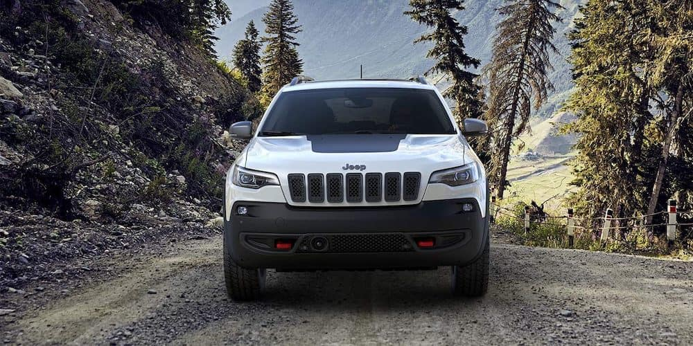 2019 Cherokee from the front
