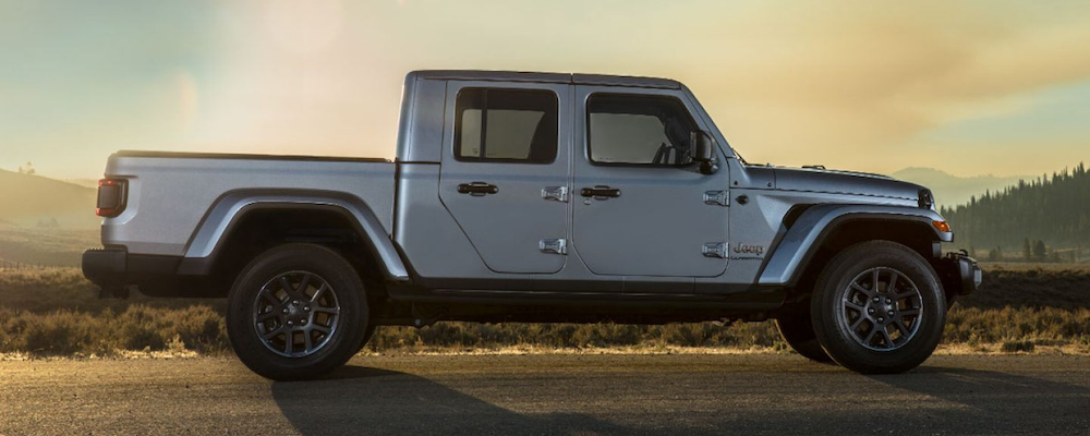 2020 Jeep Gladiator in profile
