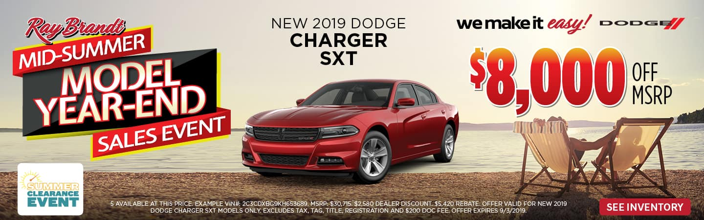 2019 CHARGER SPECIAL