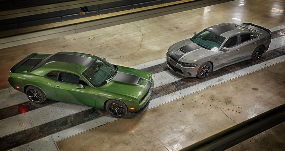 Two 2019 Dodge Challengers