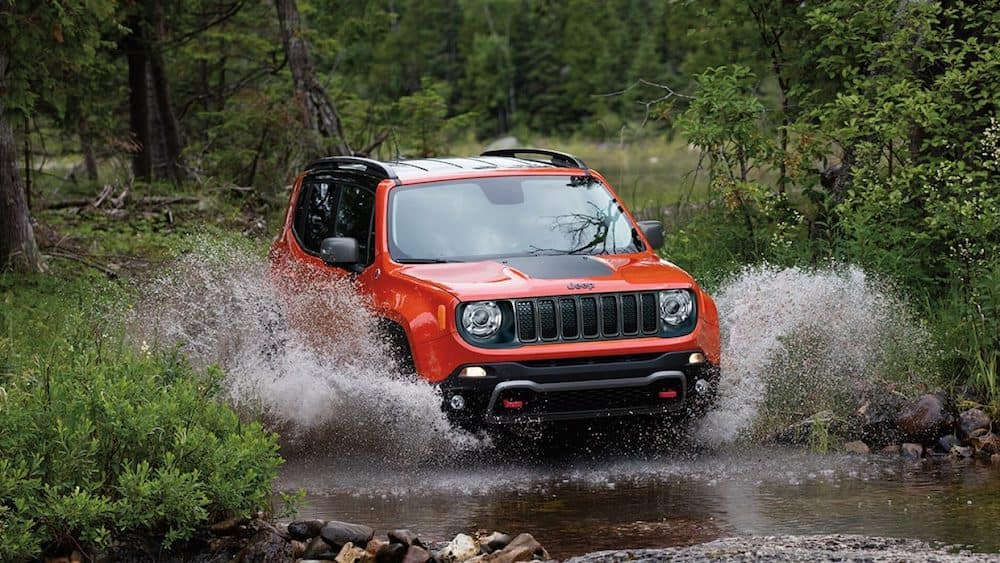 2019 Jeep Renegade off-roading