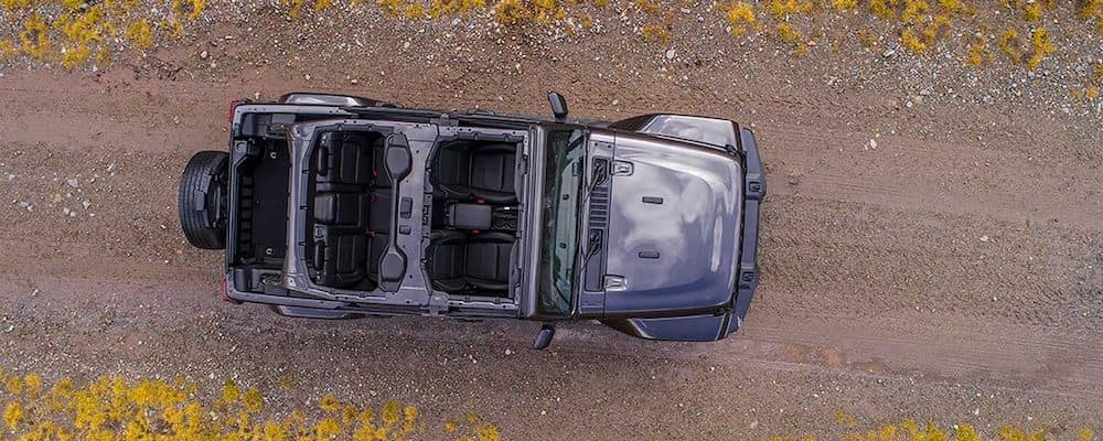 2019 Jeep Wrangler from above