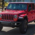 2020 Jeep Gladiator taking a turn