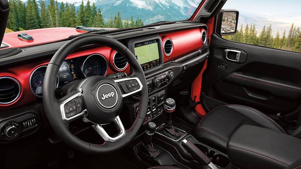 2020 Jeep Wrangler Dash