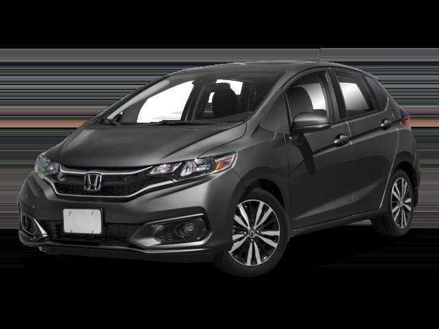 Dark gray 2018 Honda Fit