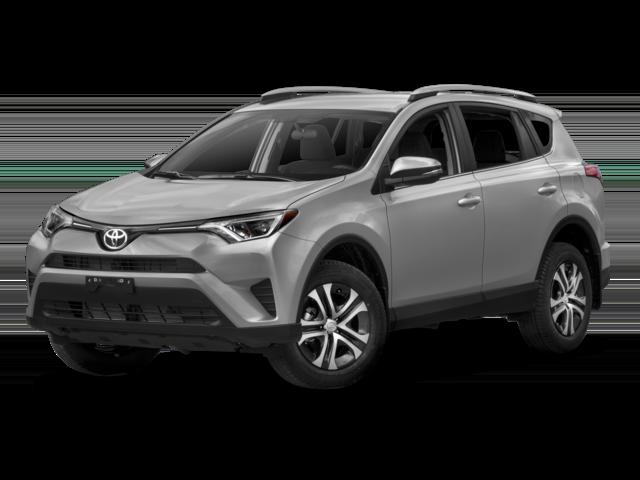 Light gray 2018 Toyota RAV4