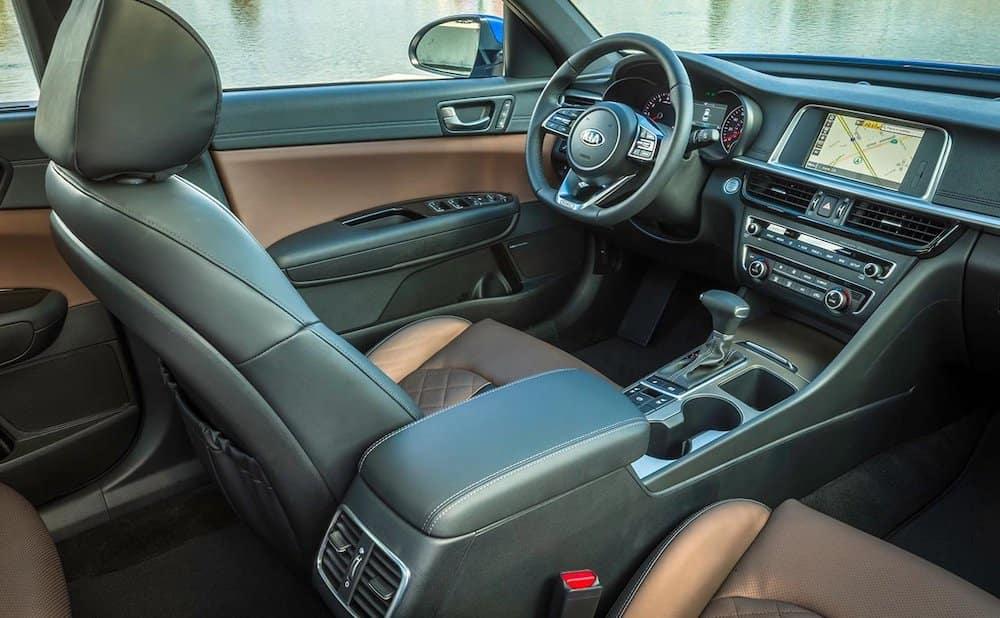 2019 Kia Optima SX Interior