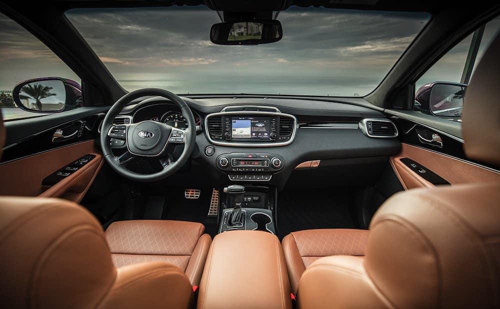 2019 Kia Sorento SX interior